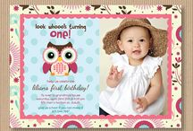 Blakes birthday invites / by Laura-Lee Stevenson