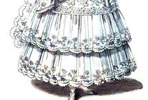 1830s Wedding Dress