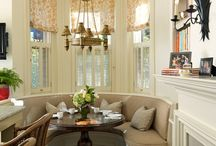 Круглый диван кухня