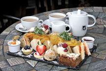 Food afternoon tea
