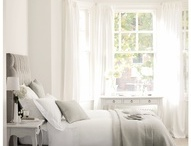White dreams / Bedrooms should be mostly white. Too much drama = no sleep