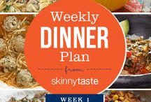 skinnytaste Weekly Dinner Plan