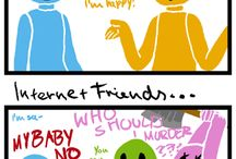Internet friends