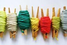 Ball of wool ideas / by Marije van Wouw