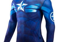 Superhero Compression Shirts / Premium quality but affordable superhero compression shirts that assist with athletic performance and recovery. Wear them casually (yes, they are that cool) or during workout making you feel like superhero!  http://iamsuperhero.com