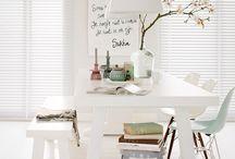 Lente inspiratie  / De lente is vollop aan de gang. Vrolijk je interieur op door levendige pastelkleuren te gebruiken om dat lentegevoel in huis te halen!