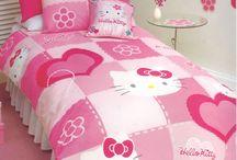 Hello Kitty / Bedding Ideas
