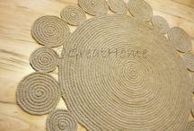 Jute Addict / hand crafted by jute, hemp, rope