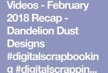 Dandelion Dust Designs: Videos