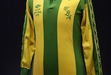 Shirts we like / A selection of classic football shirts liked by the National Football Museum.