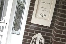 Window & Door Projects / A board about all the cool things you can make with salvaged door and windows!