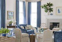 THE BEST BLUE ROOMS / Blue rooms and sometimes just blue inspiration photos. / by Lisa Dickner-Goulet, Interior Decorator