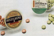 DES Drugs / Di-Ethyl Stilbestrol DES was sold under many names including Distilbène®, Stilboestrol-Borne®, Benzestrol®, Chlorotrianisene®, Estrobene® and Estrosyn® to name just a few. Many companies manufactured and marketed this drug under more than 200 different brand names.