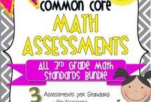 Math Assessment / Assessment, testing, exams, standardized tests etc. in mathematics.