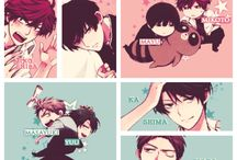 Shoujou stuff~~ / *Gekkan Shoujo Nozaki-kun *Wolf Girl and Black Prince *Kimi Ni Todoke *Tora Dora