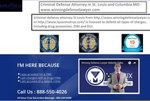 Criminal Defense Attorney in St. Louis and Columbia MO