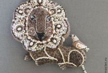 ~ Beaded Accessories ~ / Brooches, Rings, Earrings and other