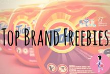 Top Brand Freebies / Find all our finest freebies from around the web here, including top brands like Tide, MAC, Arm & Hammer, Purina, Huggies, Colgate, Starbucks, Advil, Truvia, Meow Mix, Cottonelle, Origins, and more! We have beauty, makeup, family, baby, household, and health freebies from the best brands up for grabs!