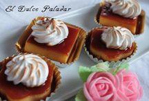 Postres / Las recetas de mi blog El Dulce Paladar