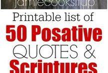 SCRIPTURES AND QUOTES