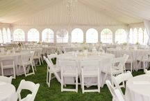 Elegant Tent Liners / Making wedding tents gorgeous with our tent liners.