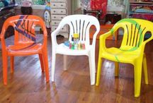 Peindre chaises jardin