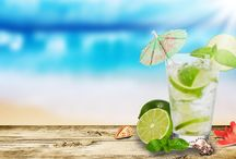 Zomer strand coctail