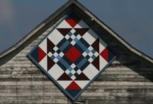 Crafty - barn quilts / by Martha Hall
