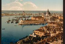 VENEZIA - VENICE - VENISE - VENEDIG / Vecchie immagini di Venezia (Old images of Venice)