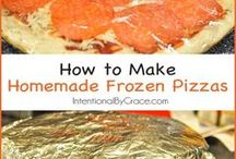 Make ahead dinners