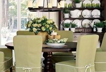 Dining Room decorating ideas/river house / by Candice Reed