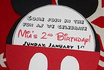 Max 1st Birthday Ideas