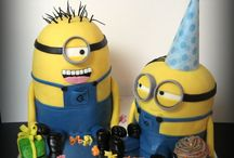 Boys cakes / by Ginger Lipari