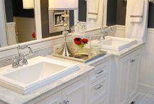 bathroom remodel ideas / by Desiree' Swehla