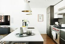 INTERIORS | kitchens to make my heart sing / dream kitchen details, appliances, colours and styles