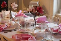 Website Roll out Brunch in pink gold & blush
