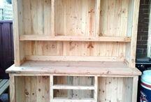 kuchyň dřevěná