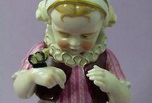 Demi figurine enfants