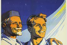 Soviet Propaganda Posters / To space, comrades!