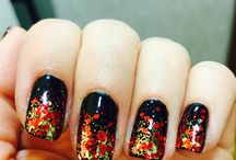 Glitter nails / New Year's Eve nails 2016
