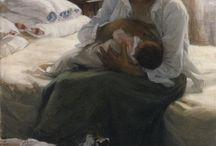 Borstvoeding and motherhood