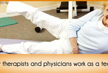 Physical Therapy / We provide physical therapy services for patients who are under the care of an NHOC physician and are covered by Medicare, Medicaid and other government payers. High-quality physical therapy, overseen by our physicians, can help you to maintain a high quality of life and more importantly – your independence!