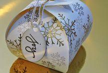 Stampin up Geschenkboxen