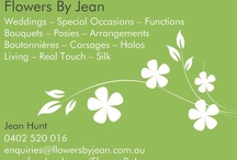 Flowers By Jean! / A mixture of what I am able to make or have made in the past.