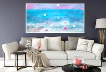 Modern Panorama Abstract Paie Deconting Print Printable Instant download wall Art Homr