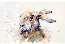 Jake Winkle / A very loose style of artwork with stunning effect.