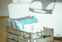 cassette di legno....mille idee