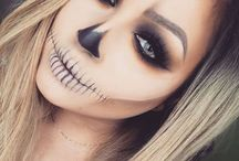 halloween meikki