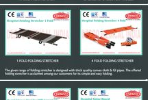 Hospital Stretcher Manufacturers India | DESCO / We are well-known as one of the prestigious organization in offering a vast range of Hospital Stretchers in India. Our range of stretchers include wheelchair cum stretcher, 1 fold, 2 fold and 4 fold stretchers, MRI Scoop stretcher and so on.