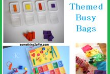 Busy Bags / Ideas for busy bags